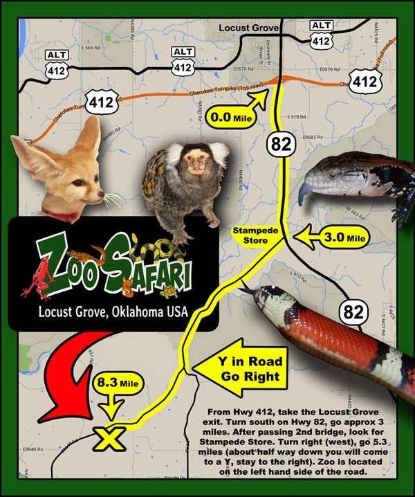 Zoo Safari Map web3